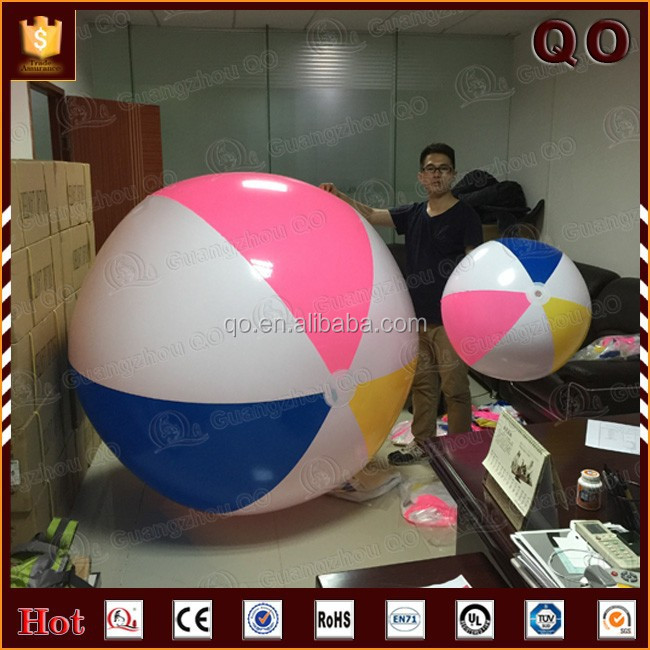Hot selling factory price custom cheap inflatable glow beach ball