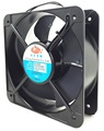 220v ac electric cooling fan size with 200mm QF20060 350CFM large air flow ac radiator cooling fan Square or round shape