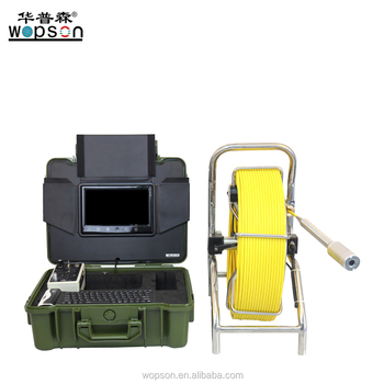 CCTV digiatal Surveys Counter video Sewer Pipe Inspection Camera