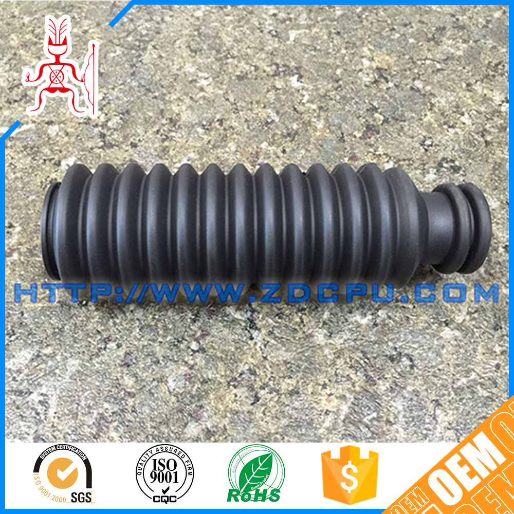 Good quality silicone customized molded rubber bellow