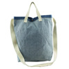 Standard size jeans blue custom cotton canvas beach tote bag 2016