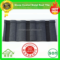 hot sale mix color stone coated roof tile