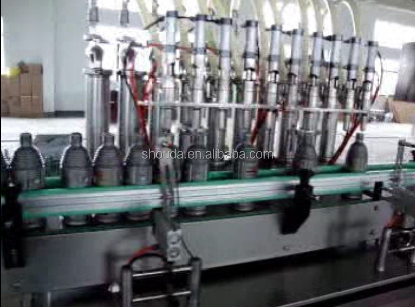 Factory price automatic sunflower oil/coconut oil/olive oil bottle filling machine