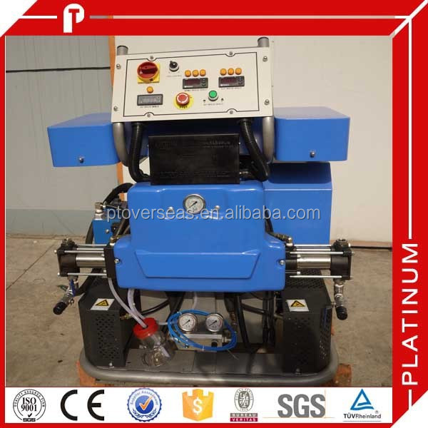 Hydraulic architecture pu spray machine