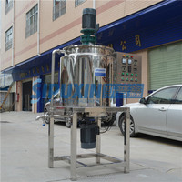 Chinese factory CE certification mayonaise internal circulation electric heating stirring mixer
