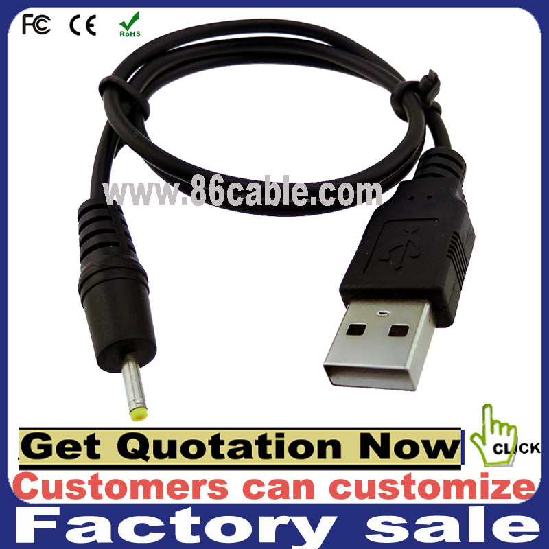 customize usb to dc 12v 2 core power cable