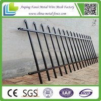 hot sale new products Department of Used decorative wrought Iron Fencing for 2015