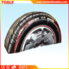 Best selling inflatable tire with factory price, giant infaltable advertising tire for sale