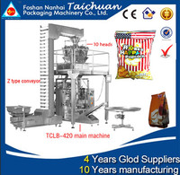 Automatic small potato chips packing machine