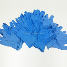 Medical Working Safety Disposable Black Blue Powder Free Nitrile Exam Gloves