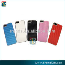 beautiful real carbon fiber cell phone case for iphone 5