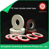 Hot Products High Quality Cheap Solvent Adhesive Pe Foam Tape / high bond acrylic foam tape