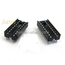 1.778/2.54mm Low profile Square Pin IC Socket