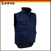 Mens Designer Safety Design Winter Padded Vest