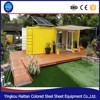 Cheap prefab hut isolated pre-made container house building living cabin container mobile shipping container modification kit