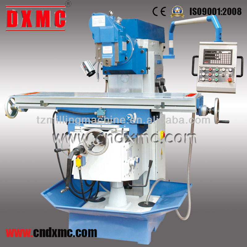 Stability and rigidity 3 axes automatic feed Special shaped pieces processing rotary table knee type milling machine X36BA
