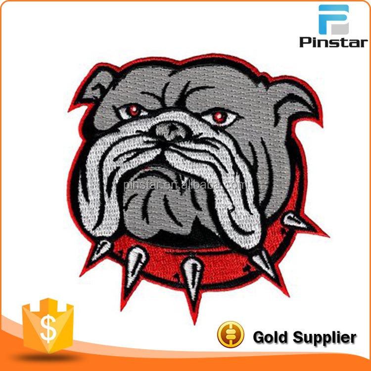 Alibaba Gold Supplier Custom Animals Embroidery Design Patches