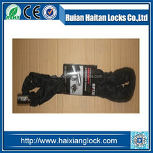 HX-013 Bicycle chain lock whit polyester
