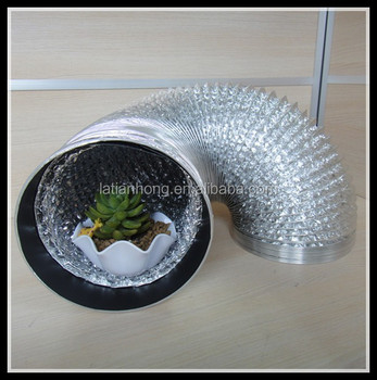 double side aluminum foil for spy cam toilet ventilation pipe hvac system