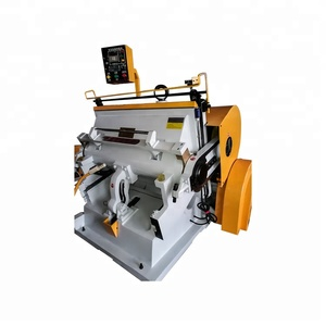 Electric creasing machine&Semi automatic flat die cutting machine