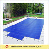 blue waterproof swimming pool cover fabric