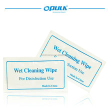 opula wet cleaning wipe with alcohol multiple usge