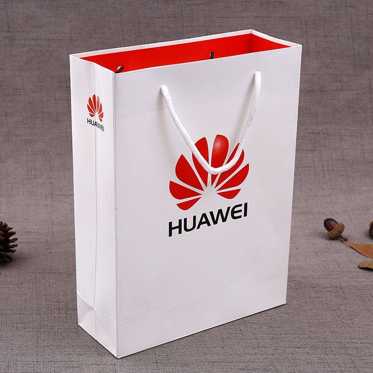 Luxury Customed Printed Paper Pag with Handle Factory Price Custom Logo Paper Bag