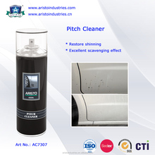 Pitch Cleaner/1. Evidently remove and clean sticky pitch and dirty accumulation ono the surface of car, motorcycle, alloy wheel