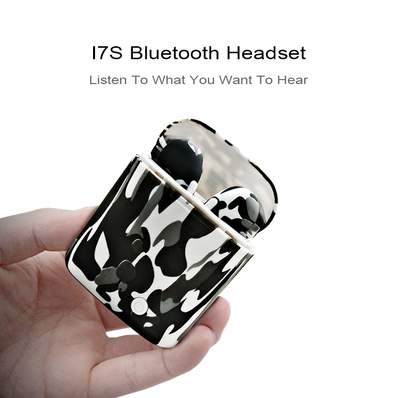 Best earphones bluetooth wireless I7 / earphones wired / earphone tws wholesale