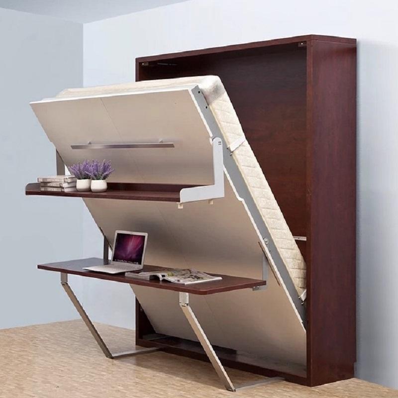 Modern Functional Queen Size Buffered Wall Mounted/murphy Folding ...