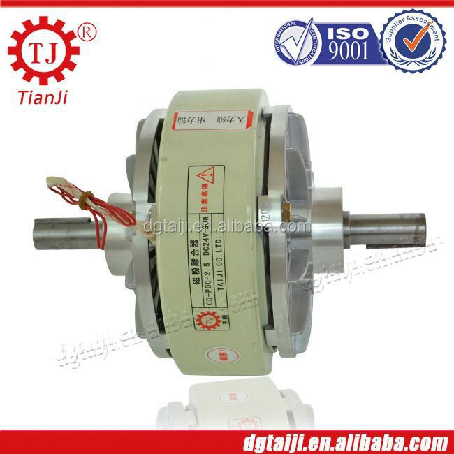 Automatic tension controller used clutch