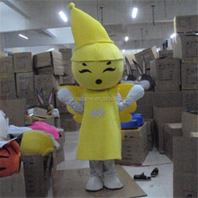 Yellow Flower Fairy mascot costume for adult Character Fancy Dress Adult