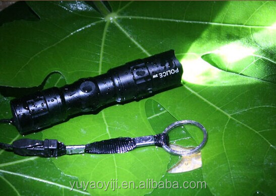 waterproof small cree q5 flashlight
