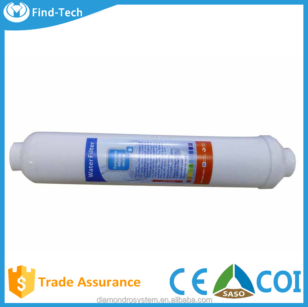 Best price reverse osmosis system drinking mineral alkaline ionizer water filter cartridge