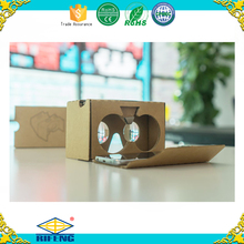 Best Price Virtual Reality 3d VR Cardboard 2.0 Viewer Custom Logo Google Cardboard Glasses