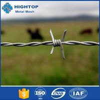 2015 hot sale Barbed wire length per roll /barbed wire fence/barbed wire price alibaba express