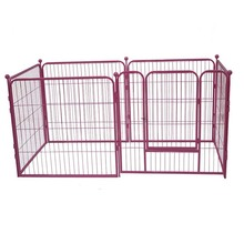 Outdoor and indoor decorative foldable cage powder coating dog crate kennels