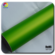 TSAUTOP top-rated 12 colors available matte chrome pvc car stickers with air free bubbles
