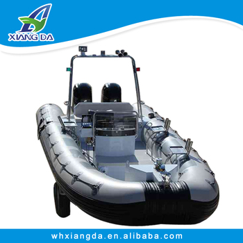 2014 new aluminum rib boat with high performance