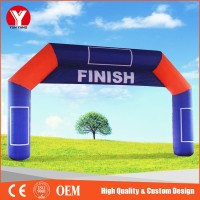 Inflatable arch,2016 Cheap Inflatable Start Finish Line Sports Arch For Sale
