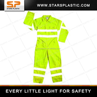 CE EN20471 Certification Jumpsuit Sets Rain Jacket Reflective Safety Vest RV-A73 Series