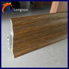 Fireproof plastic wall sheet foam skirting board baseboard for bathroom