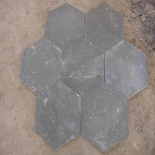 Hot Sale Natural Grey Slate outdoor Paving Flagstone mats &garden decoration stone