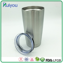 Latest design 600ml double wall stainless steel tumbler for car