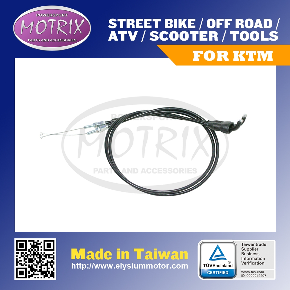 FOR KTM 250 SXF XCF 2005-2008 THROTTLE CABLE SET