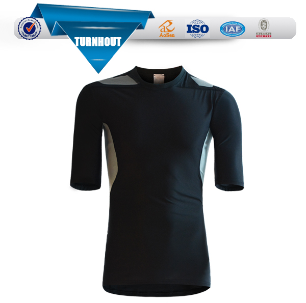 OEM Customized 100% Polyester Design Printing Dry Fit T TEE Shirt sports wears men
