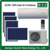 12000BTU 18000BTU 100% off grid DC best price solar power air conditioner with best solar news