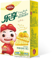 Enjoy series soda sandwich biscuit -- mango flavor