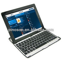 Wireless Bluetooth keyboard with aluminum case wireless bluetooth keyboard for ipad2/ipad3 and ipad4