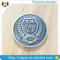 Gifts cheap custom aluminum challenge coin